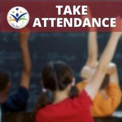 Admin App take attendance