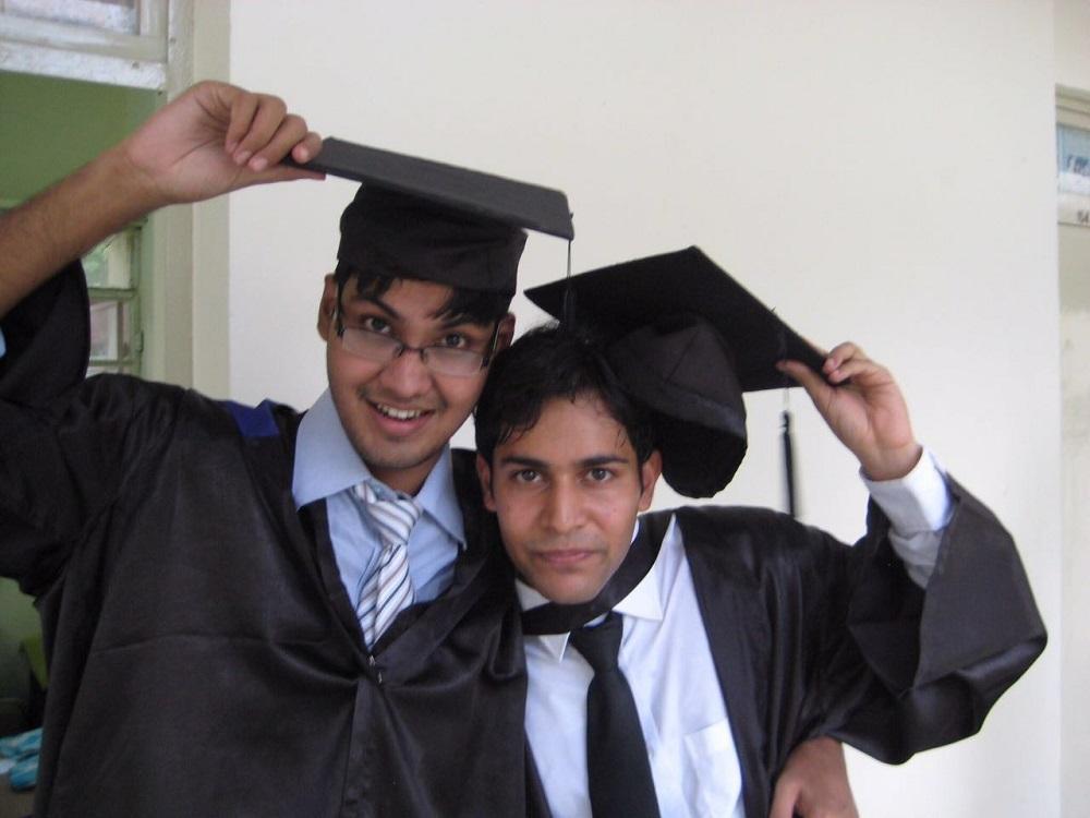 Aniket Patni(Right)